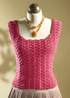 free pattern for crochet tank top. i always wanted a pretty black crocheted njvqawo