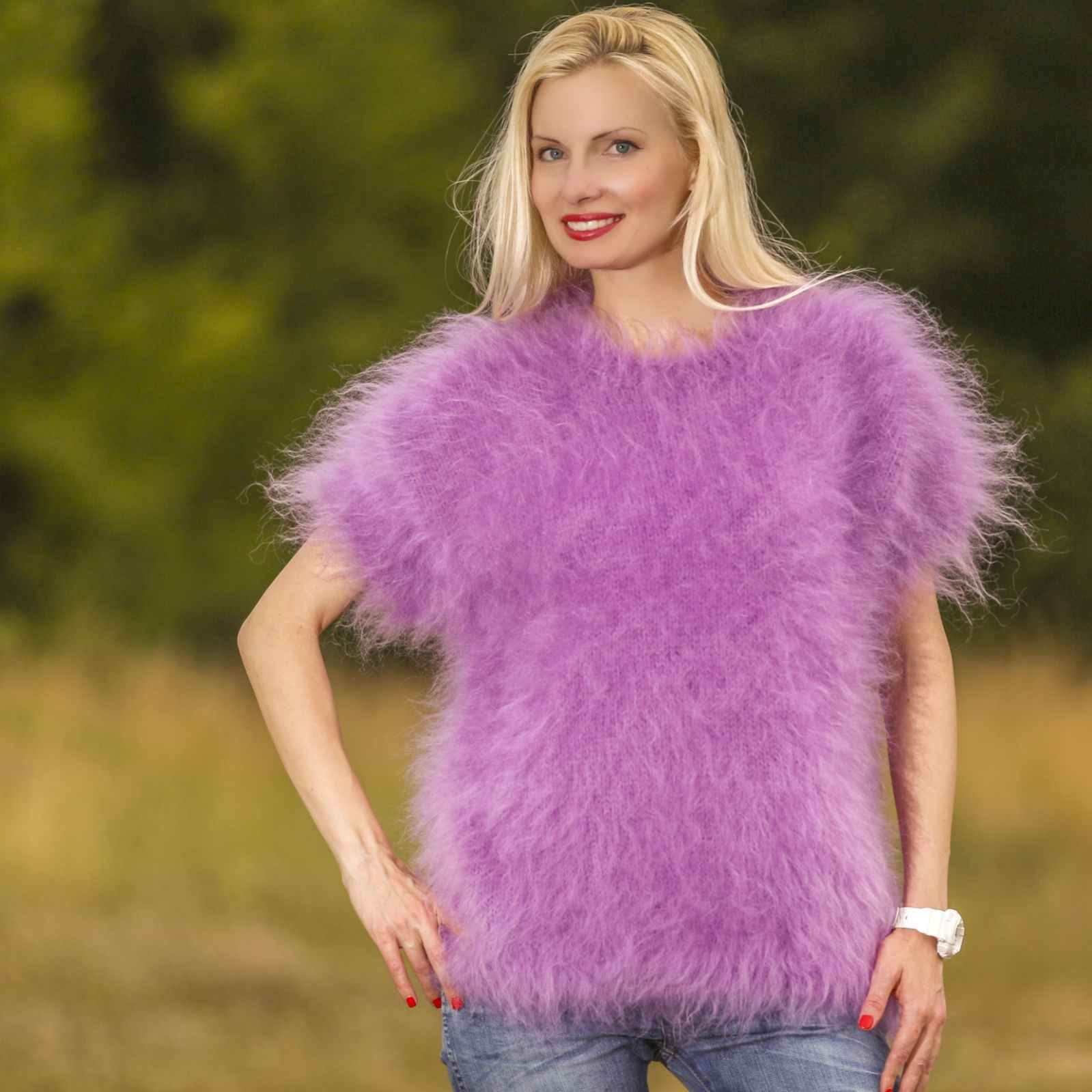 Silky Mohair Sweater for Men and Women