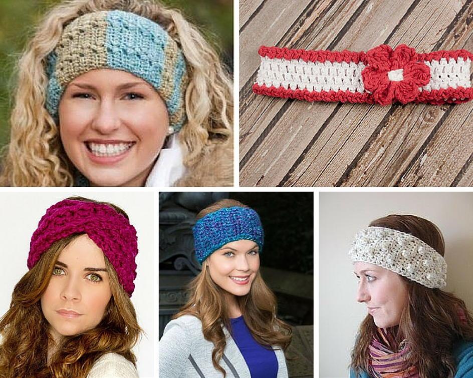 girls crochet headbands 50 crochet headband patterns | allfreecrochet.com qdtvicc