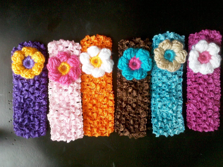 girls crochet headbands - the knit box gdyemuc