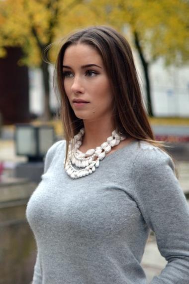 grey angora sweater added by emilietommerberg ... vvhihpq