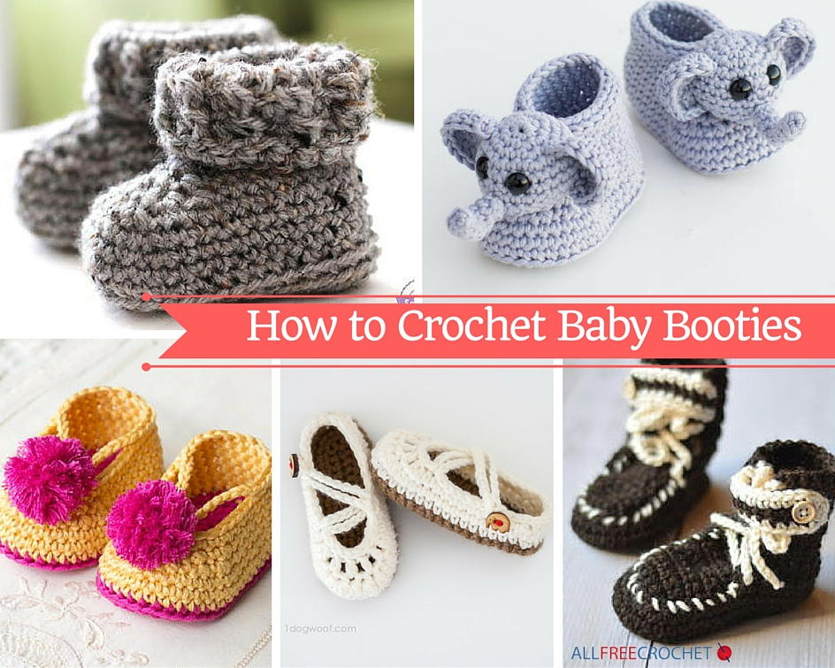 how to crochet baby booties with 51 patterns   allfreecrochet.com jbgxmdl