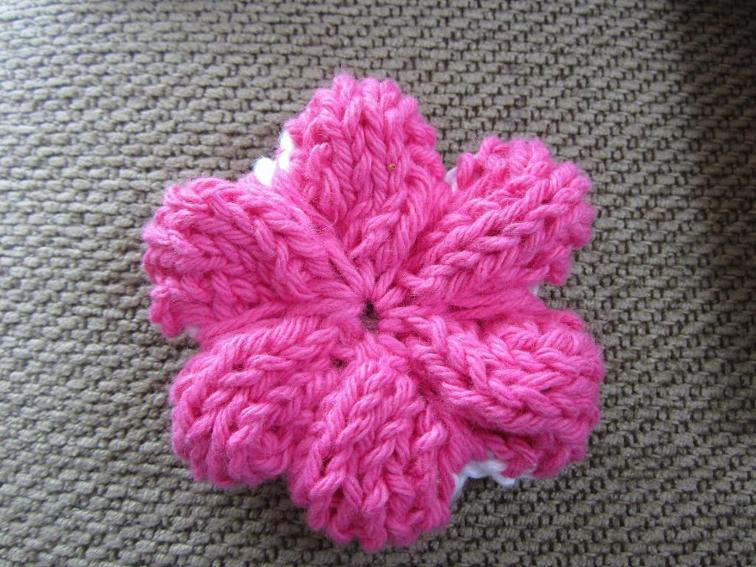 Knitting New Patterns: How To Knit A Flower