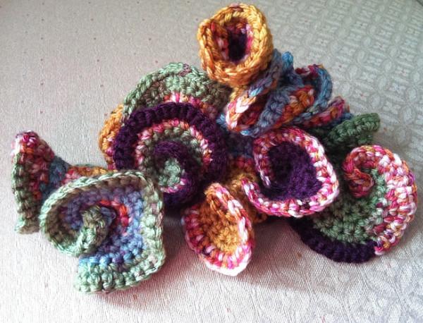 hyperbolic freeform crochet sculpture ryhtiom