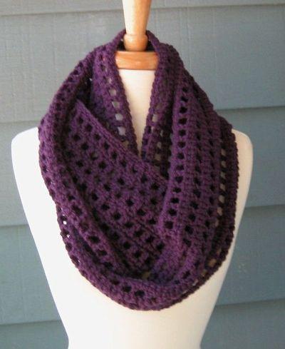 infinity scarf crochet pattern free pattern: artfully simple infinity scarf | crochet | pinterest | free pwjtfmy
