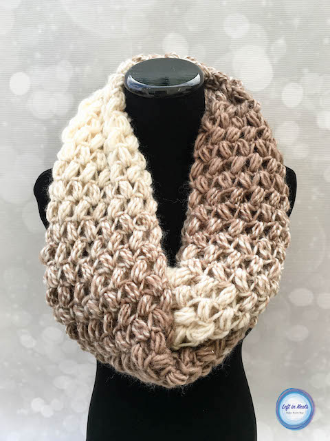 infinity scarf crochet pattern this free crochet pattern uses the cloud-like texture of lion brand scarfie mjqkyfa