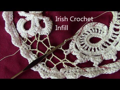 Irish Crochet irish crochet basics, background infill sibwyde