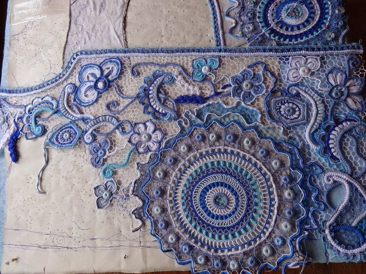 Irish Crochet irish crochet u0026: реплика виты сениной. ирландия. много фото. hxkjnmv