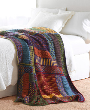 knit afghan patterns: slip stitch sampler afghan mmuqtym