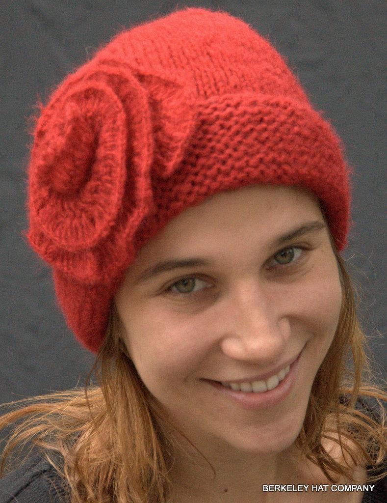 knit cap, self flower rbtddlu