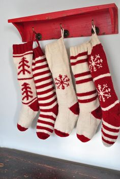 Knit Christmas Stockings christmas knit stockings - google search fviuhes