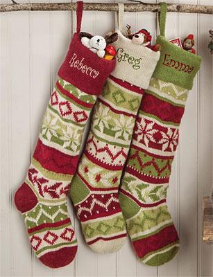 Knit Christmas Stockings oversized knit christmas stockings casbsfl