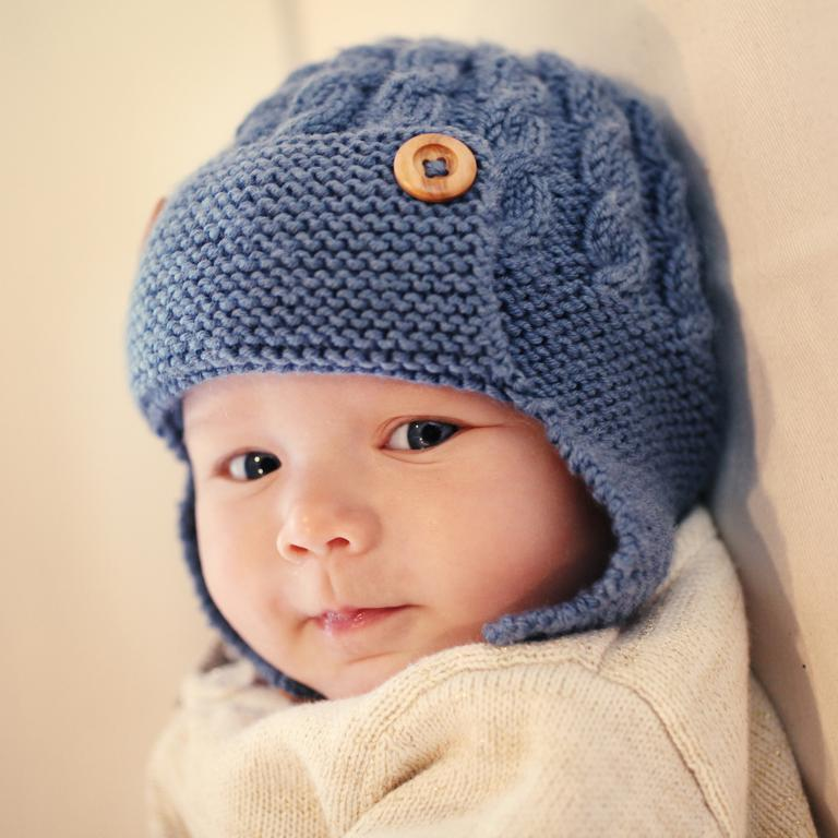 knitted baby hats aviator baby hat knitting pattern pxcvlew