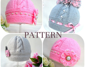 knitted baby hats knitting p a t t e r n knitting baby hat baby patterns cvosvdo