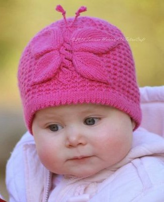 knitted baby hats knitting pattern for lady butterfly hat and more baby hat knitting patterns ozzonyc
