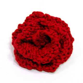 knitted flowers american beauty rose ... kaofrco