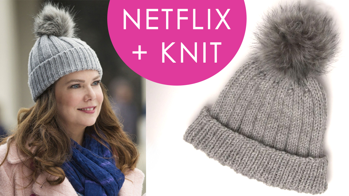 knitted hats how to knit a hat inspired by gilmore girls | netflix and knit rbjjgag