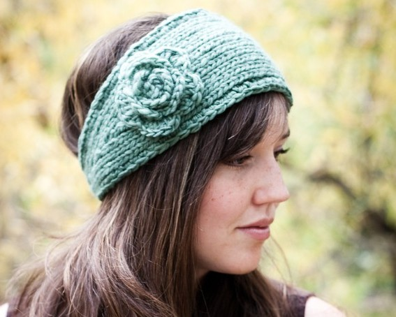 Opt for the Trendy Knitted Headband