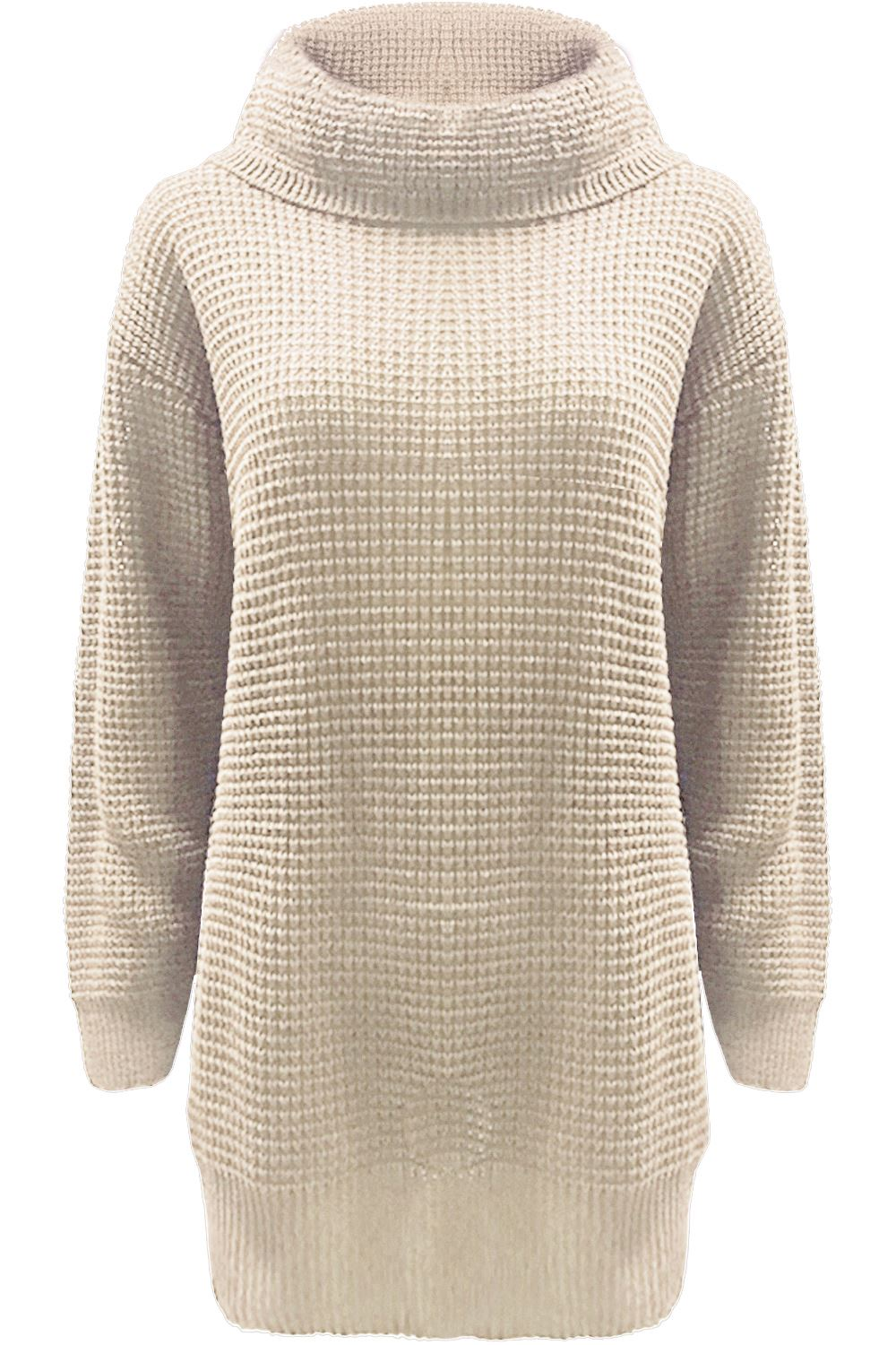 knitted jumpers womens-dress-ladies-baggy-jumper-long-sleeve-cowl- kueoqex