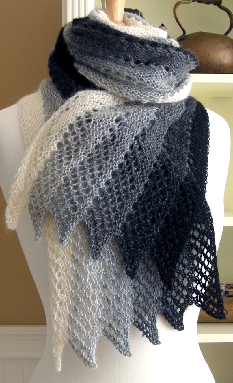 knitted scarves knitting pattern for mistral scarf knwnpqk