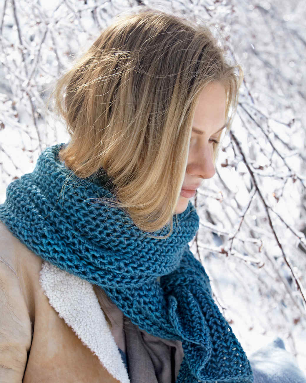 knitted scarves purse-stitch scarf uafqnry