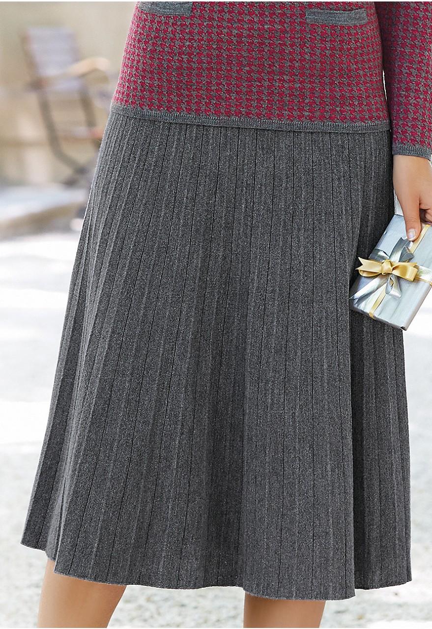 knitted skirt cskbbiw