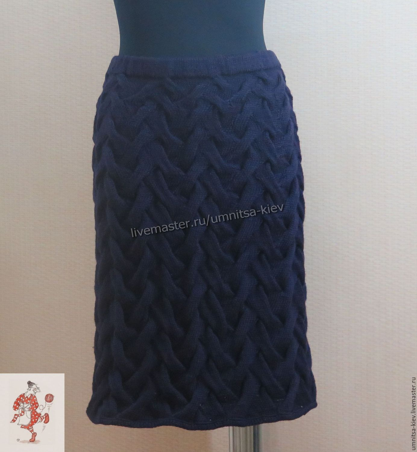 knitted skirt knitted pencil skirt with fashionable braids related quality of wool  mixture. raafjuh