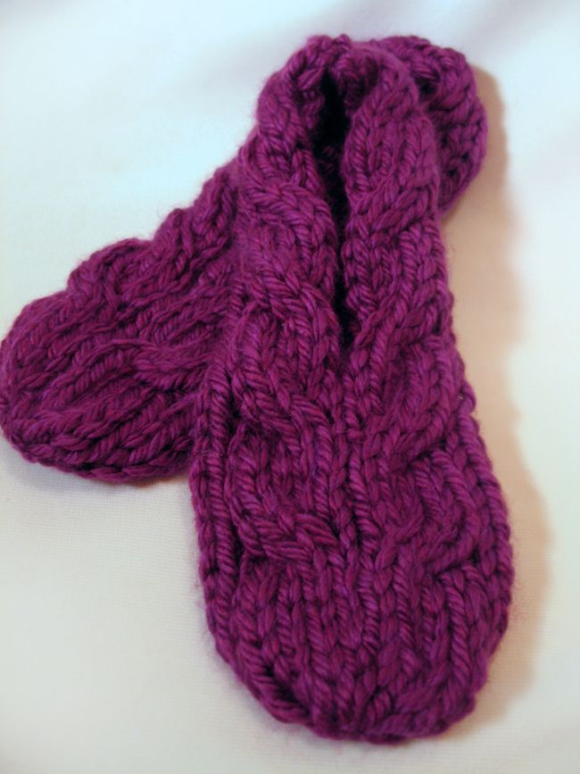 knitted slippers super quick to make (2-1/2 hrs) slippers: free knitting nxgehpg