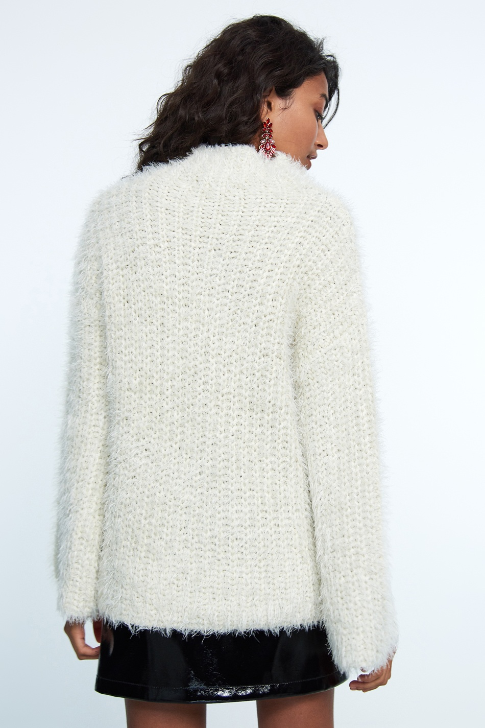 knitted sweaters ... elle knitted sweater offwhite ... hccoidy