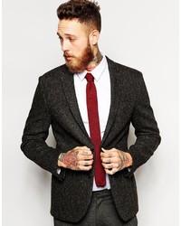 knitted ties ... asos brand knitted tie lxfbaee