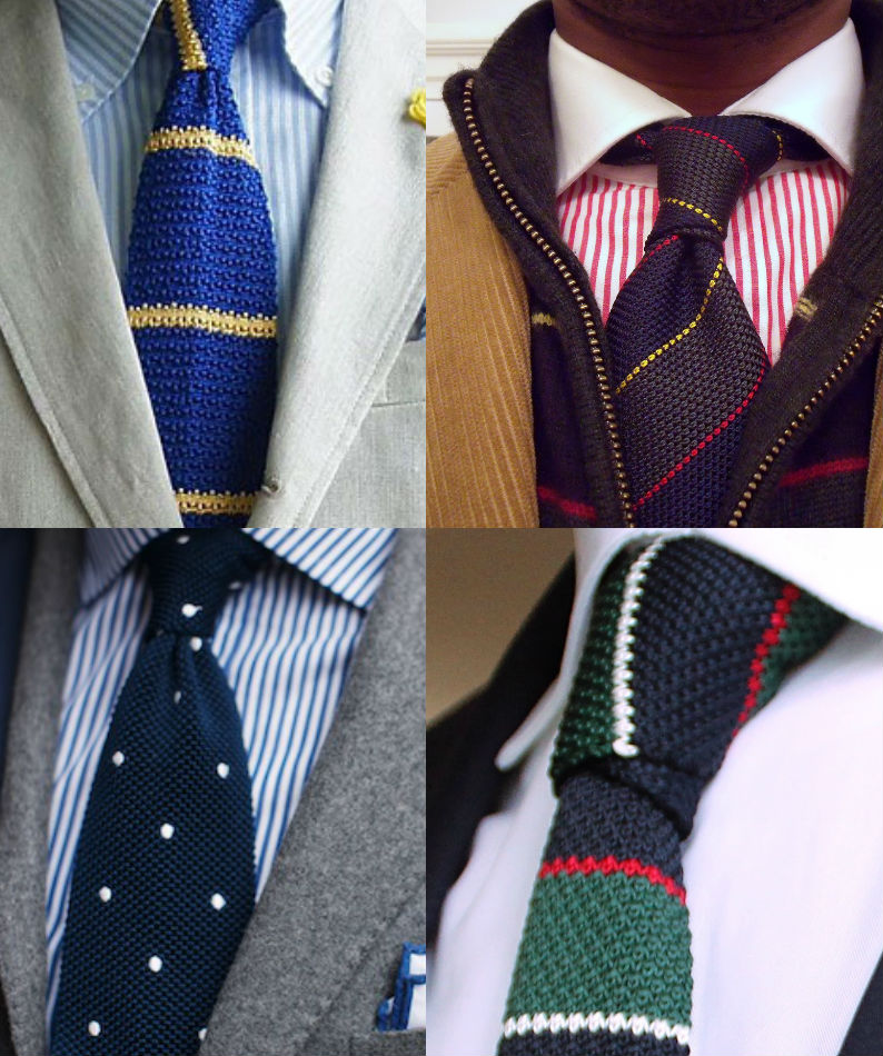 knitted ties how to wear a knitted tie. tcczriz