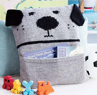 knitted toys bow-wow and meow-meow pillows ... elwmblo