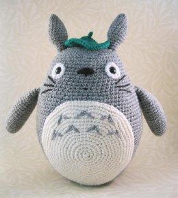 knitted toys grey totoro amigurumi jliewfh