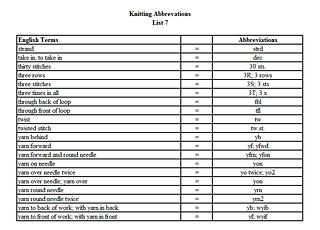 Knitting Abbreviations knitting abbreviations list 7 fvrtalp