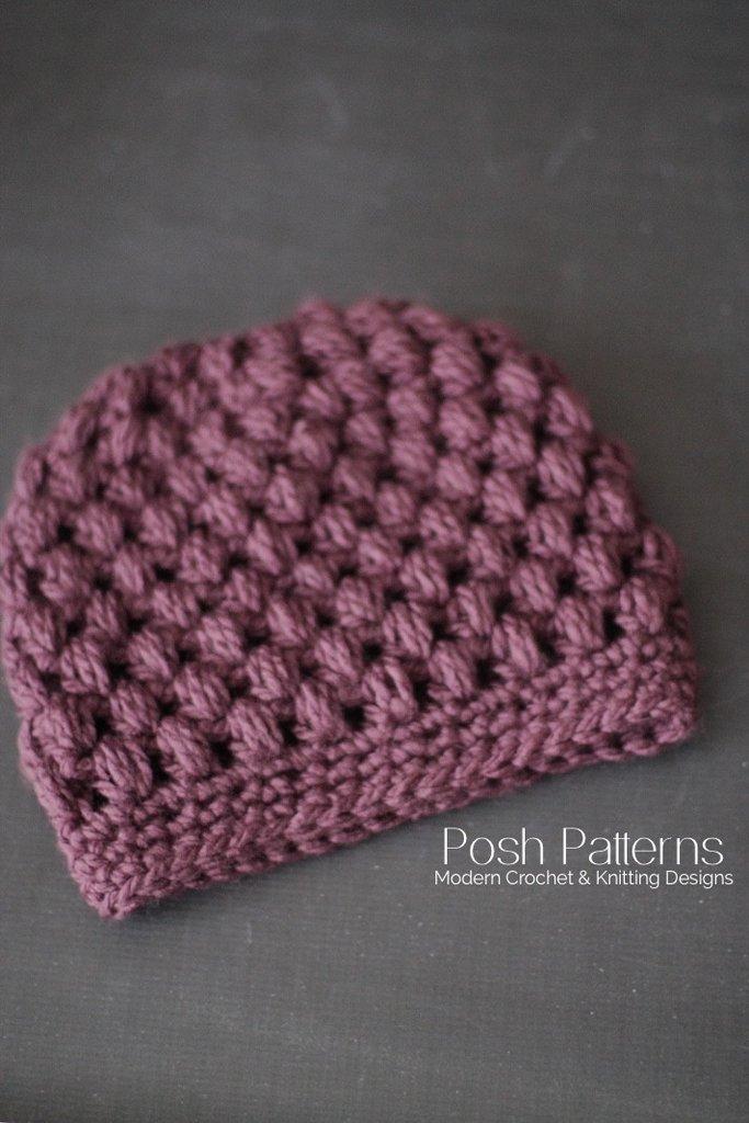 Knitting Designs ... crochet messy bun hat pattern ... exiyyax