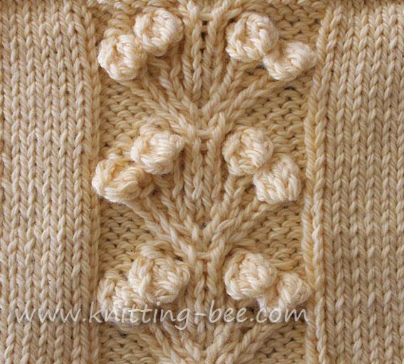 Knitting Designs ... free nosegay stitch knitting pattern ... sqpegxu