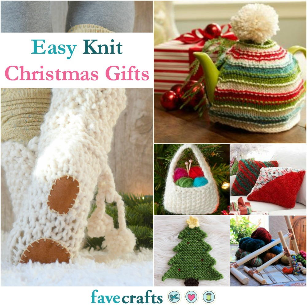 Knitting Gifts 36 easy knit christmas gifts | favecrafts.com fmngcey