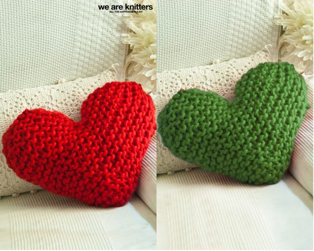 Knitting Gifts christmas happy cushion in we are knitters the wool knitting kit qycyaov