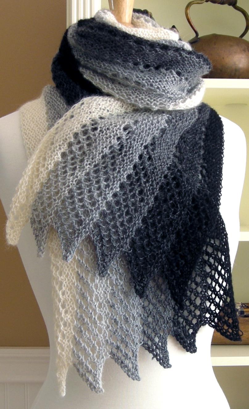 Knitting Ideas knitting pattern for mistral scarf lqsnmpq