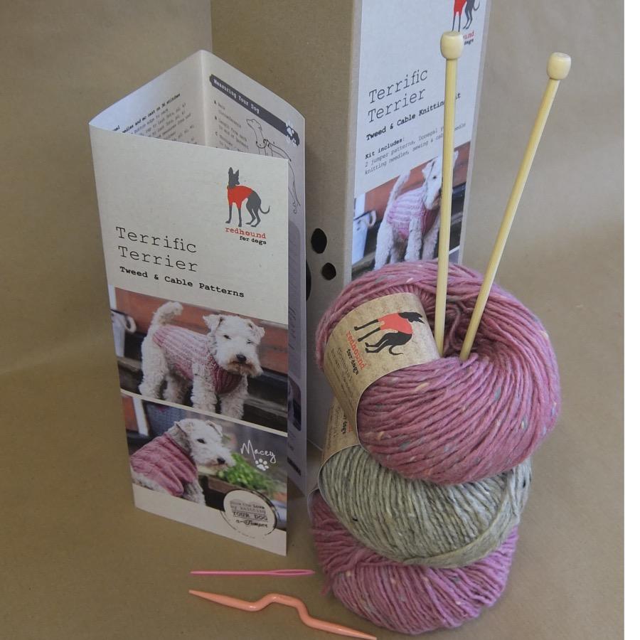 Knitting kits ... knitting kit dog jumper kit ... gvdggju