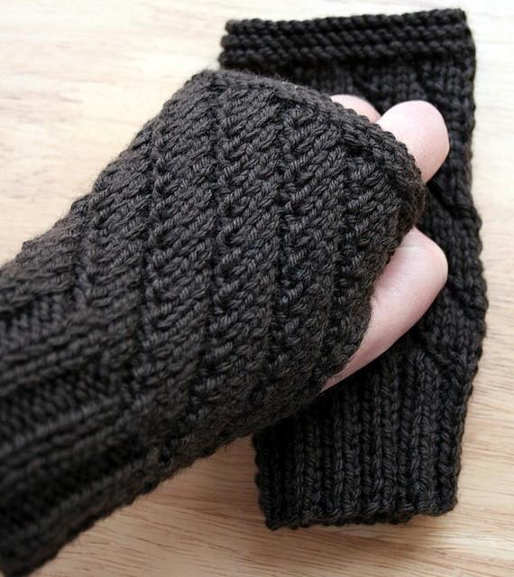 knitting pattern / fingerless gloves knitting pattern / unisex knitting  pattern / eyjdhcc