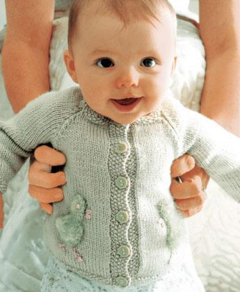 knitting patterns for babies chick - free baby cardigan knitting pattern ... kdkbrcn