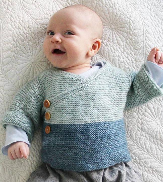 knitting patterns for babies free knitting pattern for easy baby kimono uweikte