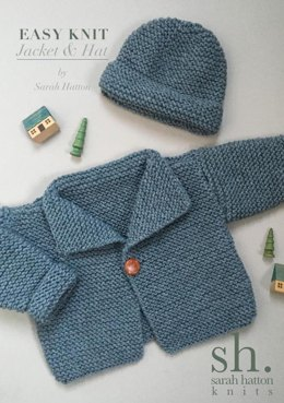 knitting patterns for beginners easy knit aran jacket and hat cjhpysf