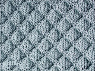 knitting stitches diamond-honeycomb-stitch pgfmjxa