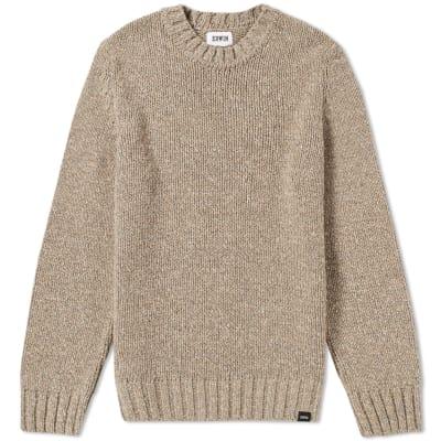 knitwear edwin dock crew knit ... mcxmldy