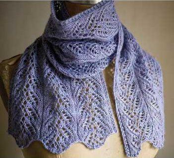 lace knitting patterns knitting pattern for aria delicato lace scarf ovqjjqb