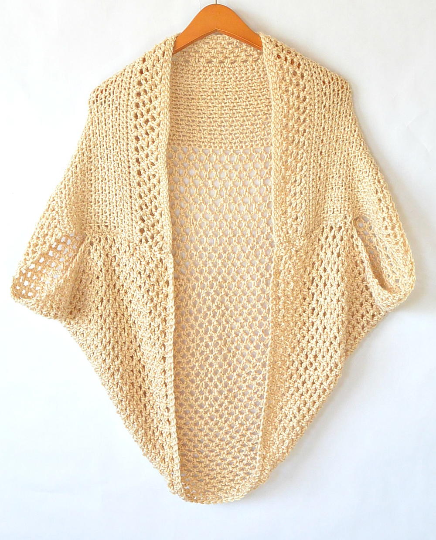 light mod mesh crochet cardigan / sweater xpoudll