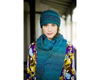 Lion Brand Yarn Patterns hat and scarf pattern (knit) fenavbh