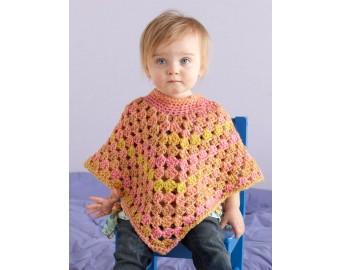 Lion Brand Yarn Patterns seashell poncho pattern (crochet) kxevhrb